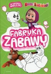 Masza i Niedźwiedź Fabryka zabawy