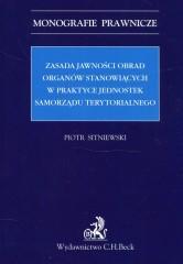 Zasada jawności obrad organów stanowiących w praktyce jednostek samorządu terytorialnego