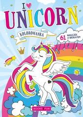 Kolorowanka Unicorn plus naklejki